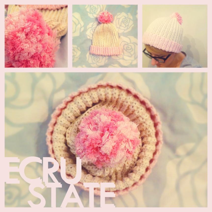 Cupcake Beanie Ecru state LOGO
